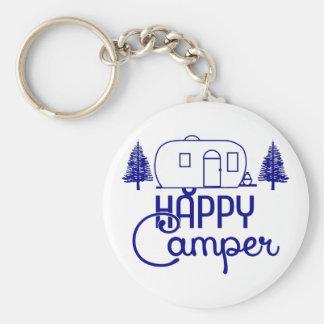Happy Camper Keychains