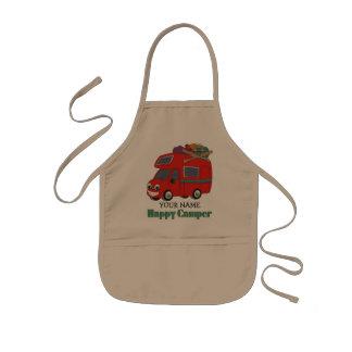 Happy Camper Kids Apron