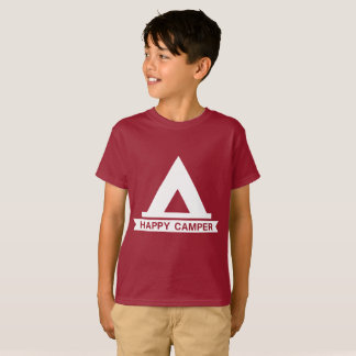 Happy Camper Kids T-Shirt