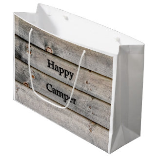 Happy Camper Large Gift Bag
