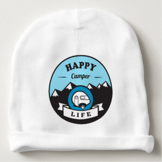 Happy Camper Life Baby Cotton Beanie Baby Beanie