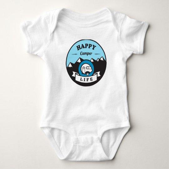 Happy Camper Life Baby Onsie Baby Bodysuit
