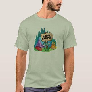 Happy Camper Men's Basic T-Shirt