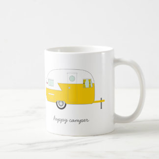 Happy Camper Mug - Yellow