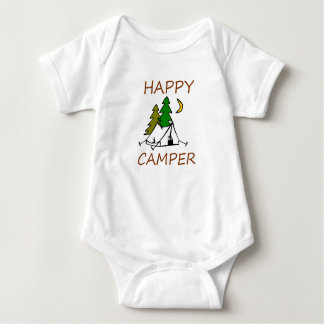 Happy Camper Outdoors Baby Bodysuit