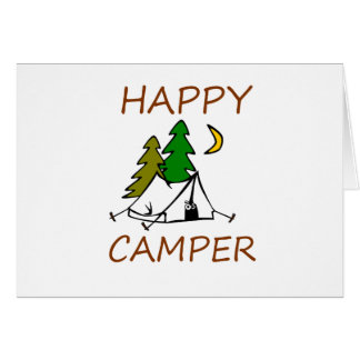 Happy Camper Outdoors Card