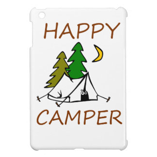 Happy Camper Outdoors Cover For The iPad Mini