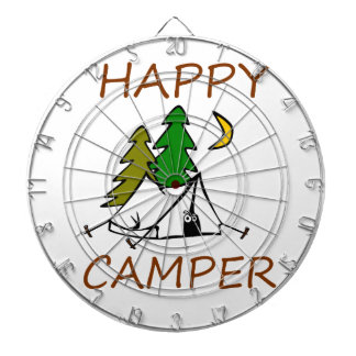 Happy Camper Outdoors Dartboard