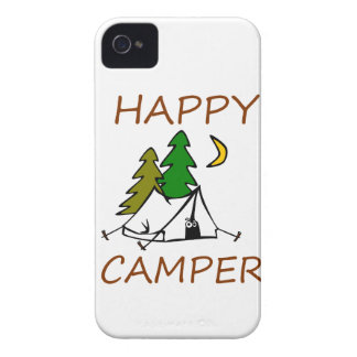 Happy Camper Outdoors iPhone 4 Covers