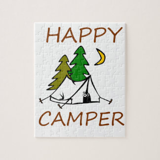 Happy Camper Outdoors Jigsaw Puzzle