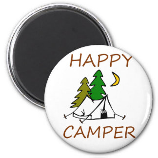 Happy Camper Outdoors Magnet