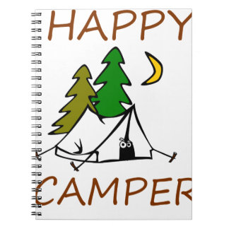 Happy Camper Outdoors Notebook