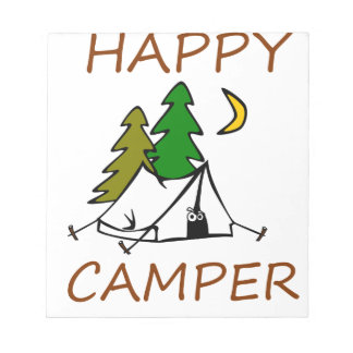 Happy Camper Outdoors Notepad