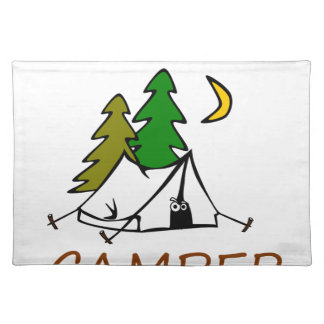 Happy Camper Outdoors Placemat