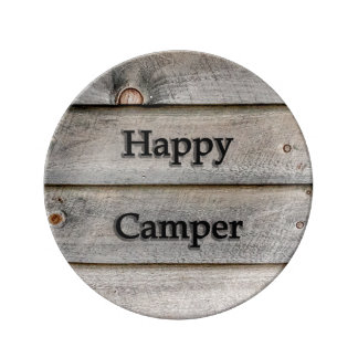 Happy Camper Plate