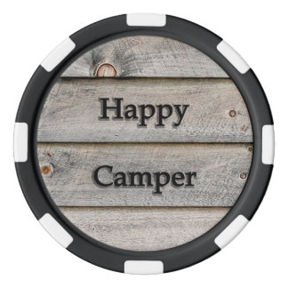 Happy Camper Poker Chips