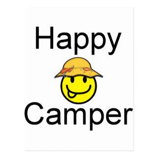 Happy Camper Post Card