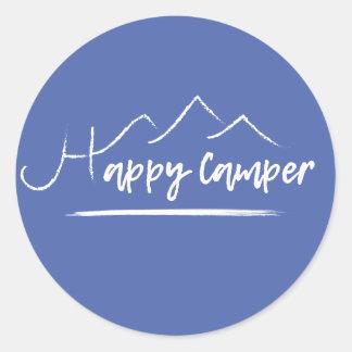 Happy Camper Sticker [BLUE]