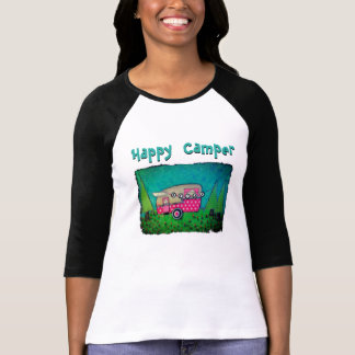Happy Camper T-shirt Camper Art Shirt