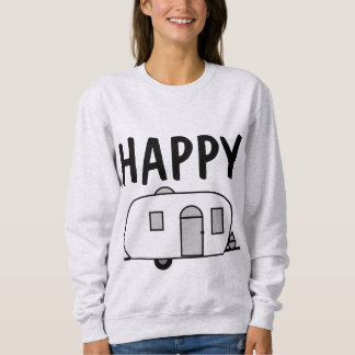 Happy Camper T-Shirts, Camper Trailer Sweatshirts