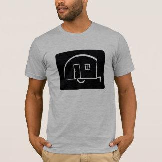 Happy Camper Teardrop Vintage Trailer Tshirt