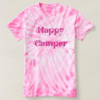 Happy Camper tie dye tee