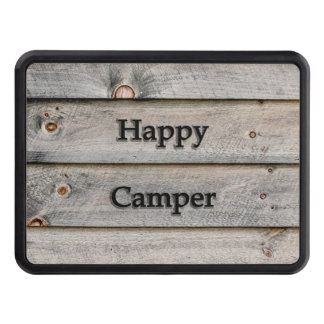 Happy Camper Trailer Hitch Cover