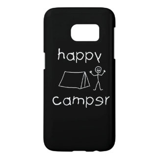 Happy Camper (wht) Samsung Galaxy S7 Case