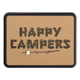 Happy Campers fun Hitch cover