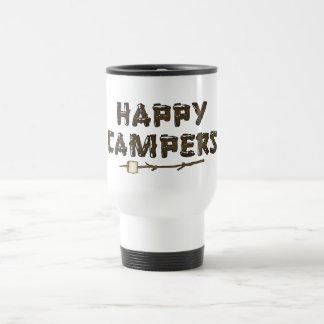 Happy Campers fun travel mug
