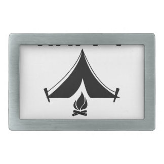 Happy Campers Rectangular Belt Buckles