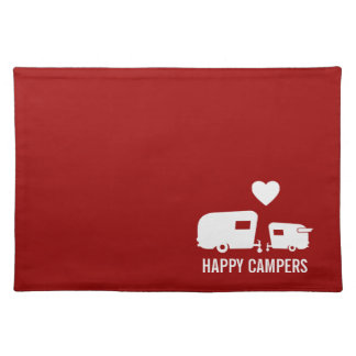 Happy Campers - Vintage RV Camp Placemats