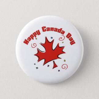 Happy Canada Day 2 Inch Round Button