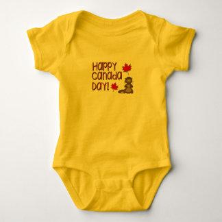 Happy Canada Day 3 Baby Bodysuit