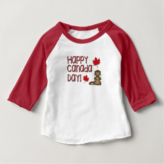 Happy Canada Day 3 Baby T-Shirt