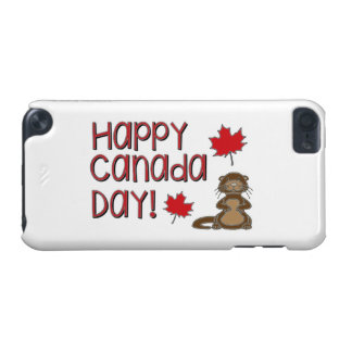 Happy Canada Day 3 iPod Touch (5th Generation) Case