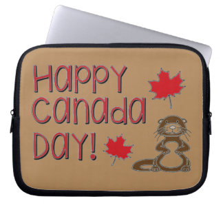 Happy Canada Day 3 Laptop Sleeve