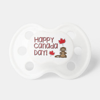 Happy Canada Day 3 Pacifier