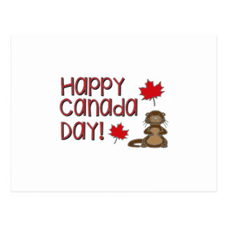 Happy Canada Day 3 Postcard