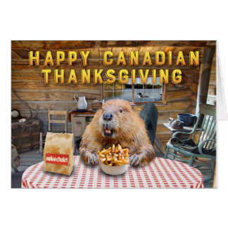 Happy Canadian Thanksgiving Card