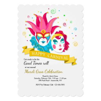 Happy Carnival Invitation
