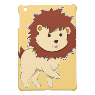 Happy Cartoon Baby Lion Case For The iPad Mini