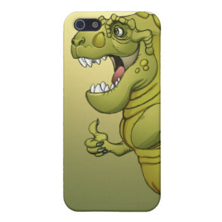 Happy Cartoon Dinosaur Giving the Thumbs Up! iPhone 5 Case
