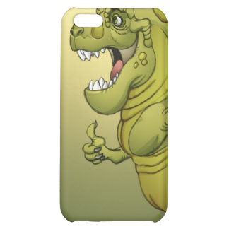 Happy Cartoon Dinosaur Giving the Thumbs Up iPhone 5C Case