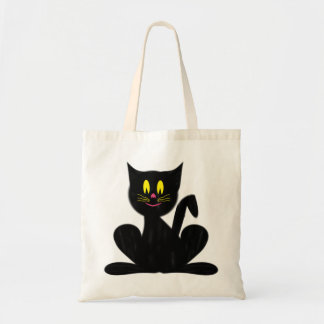 Happy Cat Budget Tote Trick or Treat Bag