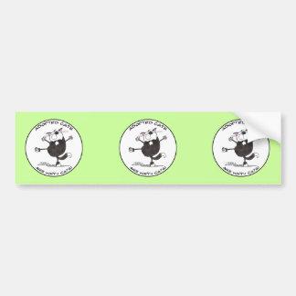 Happy Cat Dance Bumper Sticker