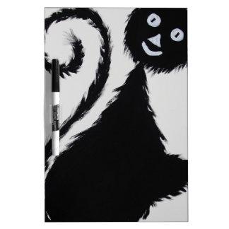 Happy Cat Dry-Erase Whiteboard