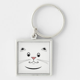 Happy Cat Gifts Keychain
