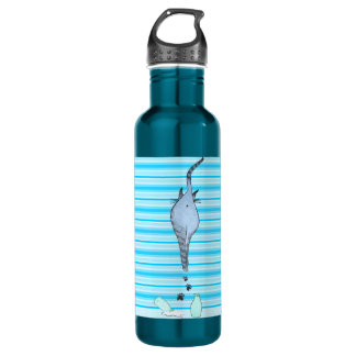Happy Cat Walk 710 Ml Water Bottle