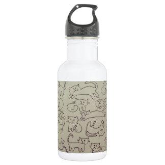 Happy Cats 532 Ml Water Bottle
